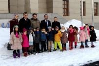 Minik Öğrenciler Ağrı İbrahim Çeçen Üniversitesini Gezdi