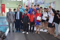 YÜZME - Okullar Arası Yüzme Müsabakaları Sona Erdi