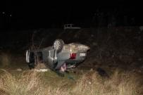 Otomobil Şarampole Yuvarlandı Açıklaması 4 Yaralı