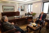 YEREL YÖNETİM - PTT Başmüdürü Türkyılmaz, Melikgazi Belediyesi'ni Ziyaret Etti