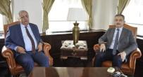 SELÇUK ÜNIVERSITESI - RTÜK Başkanı Yerlikaya'dan Rektör Şahin'e Ziyaret