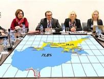 KIBRIS BARIŞ HAREKATI - Rumların Kıbrıs haritası sızdı yine aynı zihniyet!