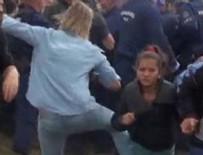 ARBEDE - Sığınmacıya tekme atan o kameranın cezası belli oldu