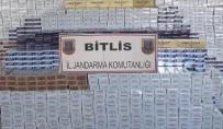 Tatvan'da 48 Bin Paket Kaçak Sigara Ele Geçirildi