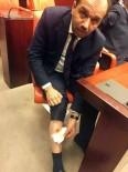 TBMM'de CHP Milletvekili, AK Partili Balta'yı Bacağından Isırdı