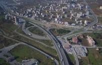 Tekkeköy'deki Viyadük Ve Kavşak Çalışmasının Yüzde 49'U Tamam