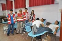 CENGIZ TOPEL - Türk Kızılayı Soma'da Kan Bağışı Hareketi Başlattı