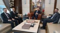 MEHMET ŞÜKRÜ ERDİNÇ - Vali Demirtaş'ın, Ankara Temasları