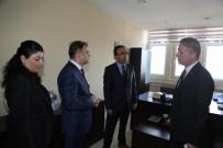Vali Gül'den, İl Müdürlüklerine Ziyaret