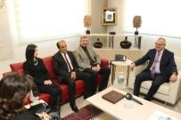 CENGIZ ERGÜN - Akhisarlı Meclis Üyelerinden Başkan Ergün'e Ziyaret