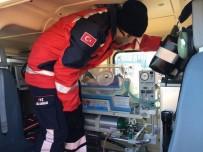 AMBULANS HELİKOPTER - Ambulans Helikopter, Kalp Hastası 3 Günlük Bebek İçin Havalandı