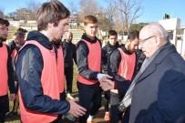 Başkan Albayrak Tekirdağspor'a Başarılar Diledi