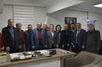 Başkan Ataç Habev'i Ziyaret Etti