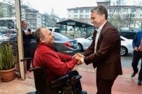 SERVİSÇİLER ODASI - Başkan Uysal'dan Engellilere Bocce Topu