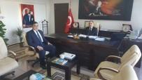 Başkan Yalçın'dan İl Çevre Ve Şehircilik İl Müdürü Bolat'a Hayırlı Olsun Ziyareti
