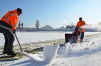 Bozüyük'te Kar Spora Engel Değil
