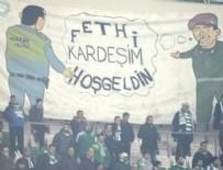 TİMSAH - Bursa tribünlerinde duygulandıran pankart!