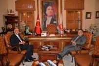 Bursa Vali Yardımcısı Kadiroğlu'dan Başkan Yağcı'ya Ziyaret