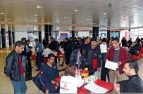 TÜRK BAYRAĞI - Büyükşehir Belediyesinden Kan Bağış Kampanyası