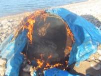 Elazığ'da Avlanmada Yasak Olarak Kullanılan 12 Adet Güme İmha Edildi