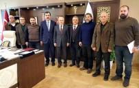 TOPRAK KAYMASI - Erdem, Toprak Kayması Mağdurlarının Sorununu Ankara'ya Taşıdı