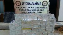KAÇAK SİGARA - Ev Eşyaları Arasına Gizlenmiş 64 Bin 160 Paket Kaçak Sigara Ele Geçirildi
