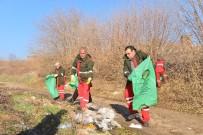KEÇİ - Hevsel Bahçelerinde Hafriyat Ve Çöp Temizliği