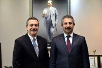 İl Emniyet Müdürü Dinç'ten Başkan Ataç'a Ziyaret