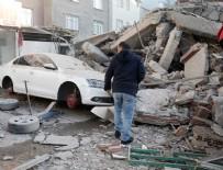 ÇÖKME TEHLİKESİ - Zeytinburnu'da bina çöktü! 1'i çocuk 2 ölü , 17 yaralı