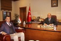Kaymakam Yüksel'den Başkan Arslan'a İadeyi Ziyaret
