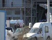 PATLAMA ANI - Kocaeli'de fabrikada patlama: 1 işçi öldü, 15 işçi yaralandı