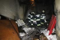 Konya'da Baraka Yangını