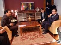 Kore Büyükelçisinden Dostluk Ziyareti