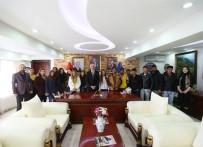 Kursiyerlerden Başkan Saraçoğlu'na Teşekkür Ziyareti