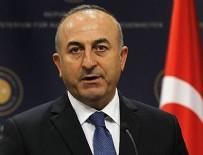 YOL HARITASı - Bakan Çavuşoğlu'ndan kritik Kıbrıs açıklaması