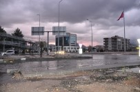 Milas-Bodrum Karayolunu Su Bastı