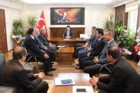 İŞ GÜVENLİĞİ - Milli Eğitim Müdürleri Toplantısı Samsat'ta Yapıldı