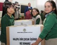 Öğrencilerden Halepli Çocuklara Yardım