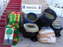 PKK Yandaşlarının Evinde 132 Kilo Uyuşturucu Ele Geçirildi