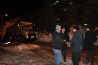 Seydişehir'de Kar Temizleme Çalışması