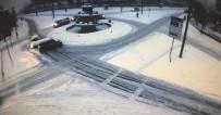 MOBESE - Sürücülerin karla imtihanı kameralara yansıdı