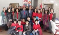 ŞEHİT ÜSTEĞMEN - TEOG'da Başarılı Olan Öğrencilerden Başkan Cabbar'a Ziyaret