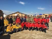 İL SAĞLIK MÜDÜRÜ - Tümamiral Prof.Dr. Hayati Bilgiç, Çobanbey Sıhhi Tahliye Noktasını Ziyaret Etti