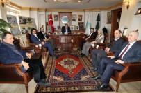 AKSARAY BELEDİYESİ - Türkiye Gençlik Vakfı'ndan Aksaray Belediyesi'ne Ziyaret