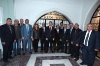 Vali Çelik'ten Türkiye Muhtarlar Derneği Eskişehir Şubesi'ne Ziyaret