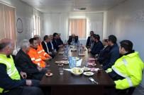 Vali İsmail Ustaoğlu, KOP Tüneli'nde İncelemelerde Bulundu