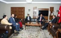 İBRAHIM TAŞYAPAN - Van Kültür Ve Dayanışma Vakfı'ndan Vali Taşyapan'a Ziyaret
