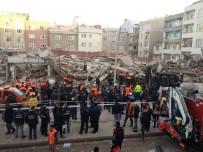 Zeytinburnu'nda 6 Katılı Bina Çöktü Açıklaması 3 Yaralı