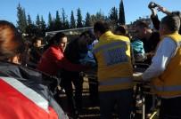 AMBULANS HELİKOPTER - 3 Yaşındaki Çocuk Süt Kazanına Düştü