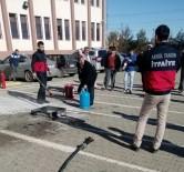 MİMAR SİNAN - Adıyaman 'Da İş Sağlığı Ve Güvenliği Uzmanlarına Yangın Eğitimi Verildi